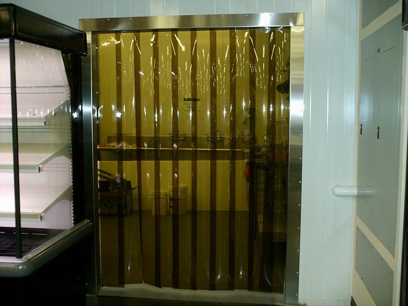 Amber  Yellow and Black Strip Door Kits. Amber  Yellow and Black Strip Door Kits   Strip Curtains com