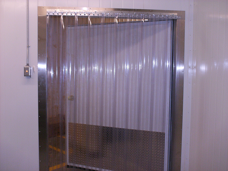 Plastic Door Strips >> Cooler and Freezer Strip Doors - Strip-Curtains.com