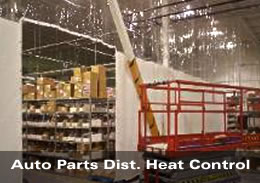 Auto Parts Distribution Heat Control