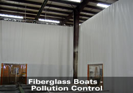 Fiberglass Boats - Pollution Control