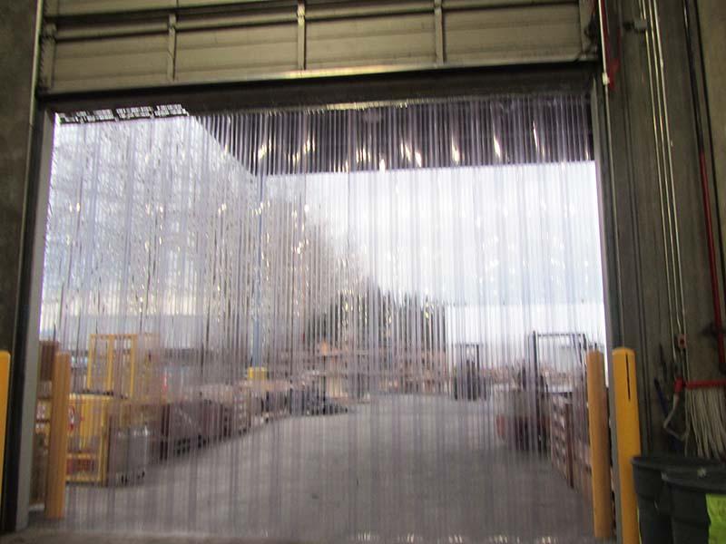 Plastic Door Strips >> Strip Door 60 In X 72 In Green Weld 8 In Strip Curtains Com