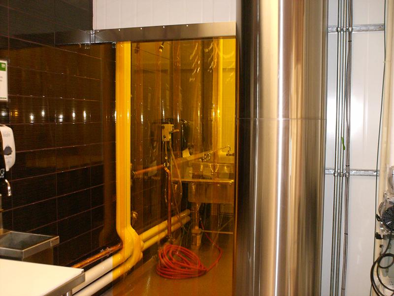 Cooler And Freezer Strip Doors Strip Curtains Com