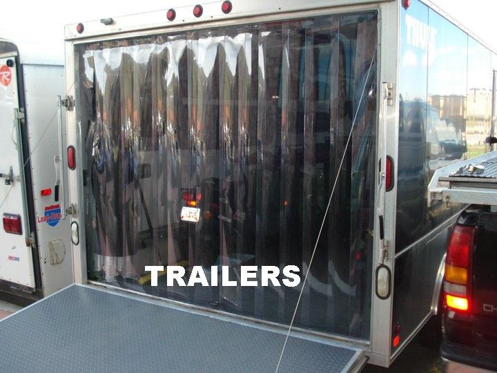 Truck and Trailer Strip Doors. Buy Strip Door kits and Strip Curtains Online   Strip Curtains com