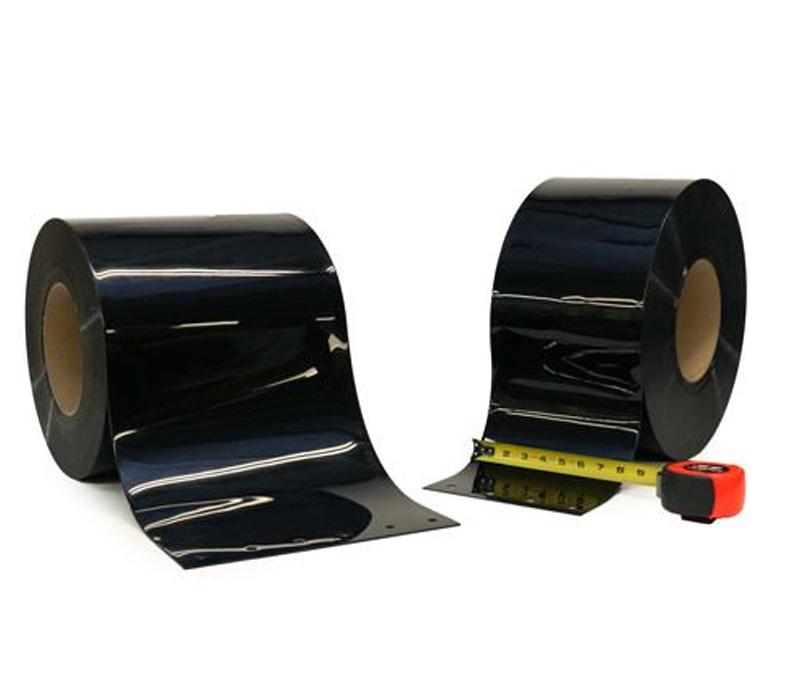 PVC Roll Black Opaque Strip. PVC Rolls   Bulk PVC Rolls   Strip Curtains com