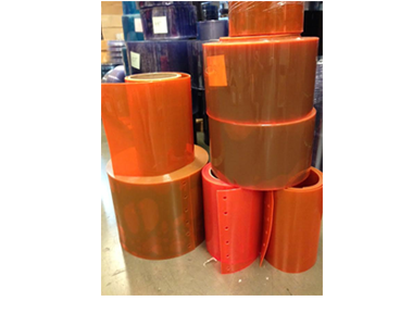 PVC Roll Orange Safety Strip
